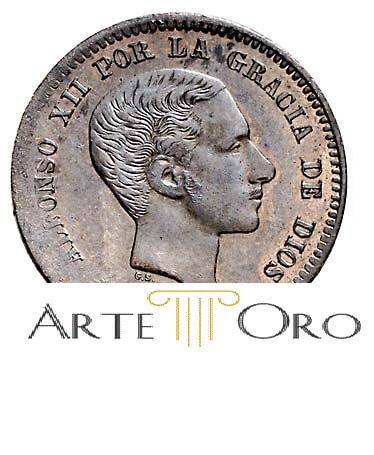 Vernder monedas de plata de Alfonso XII