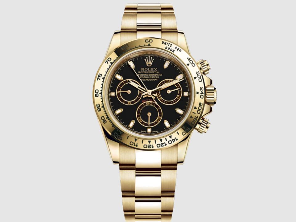 Rolex Daytona de oro