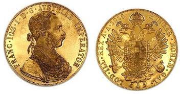 Ducado de Austria para vender monedas de oro