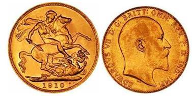 Soberano de Reino Unido para vender monedas de oro